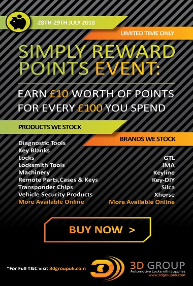 Advert: https://3dgroupuk.com/page/Simply-Reward-Points-Event