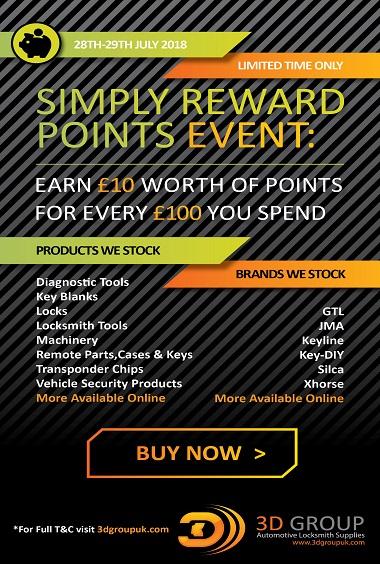 Advert: https://3dgroupuk.com/page/Simply-Reward-Points-Event