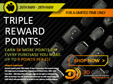 Advert: https://3dgroupuk.com/page/may-Triple-Reward-Points-Event?utm_source=L%26S_newsletter&utm_medium=middle_add&utm_campaign=Tripe_Reward_Points_Event_May