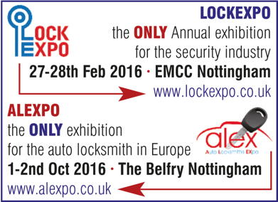 Advert: http://lockexpo.co.uk